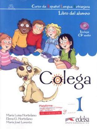 Imagem de COLEGA 1 - LIBRO DEL ALUMNO + EJERCICIOS + CD AUDIO