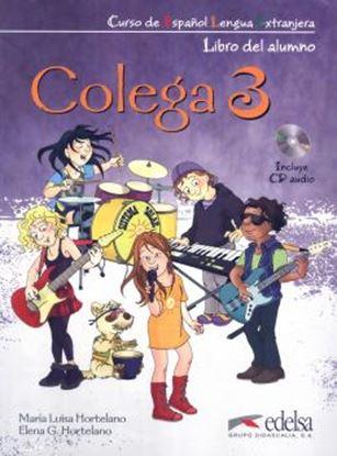 Imagem de COLEGA 3 - LIBRO DEL ALUMNO + EJERCICIOS + CD AUDIO
